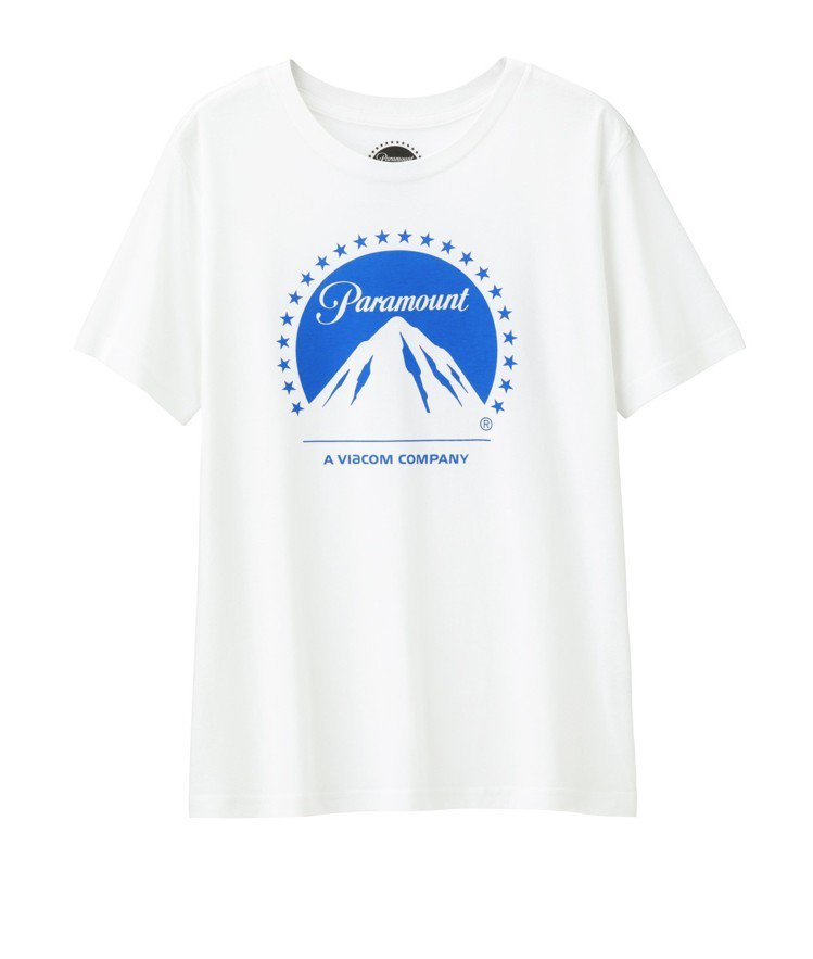 CU與派拉蒙影片女裝印花T恤,售價290元。圖/GU提供