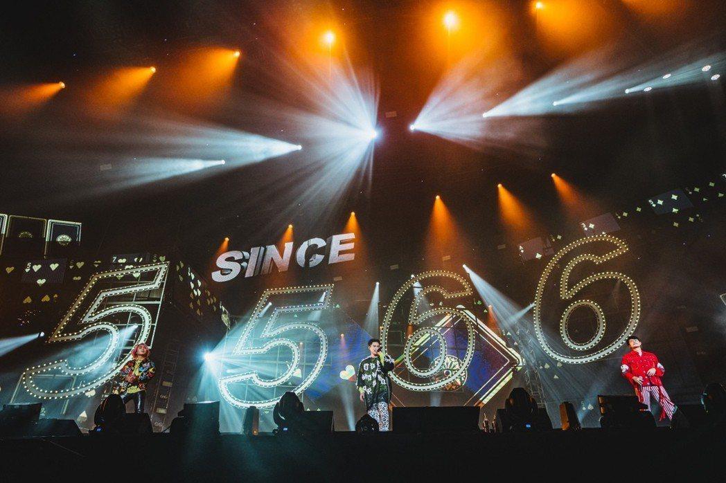 5566闊別16年,重返新加坡開唱。圖/華貴娛樂、理想國提供