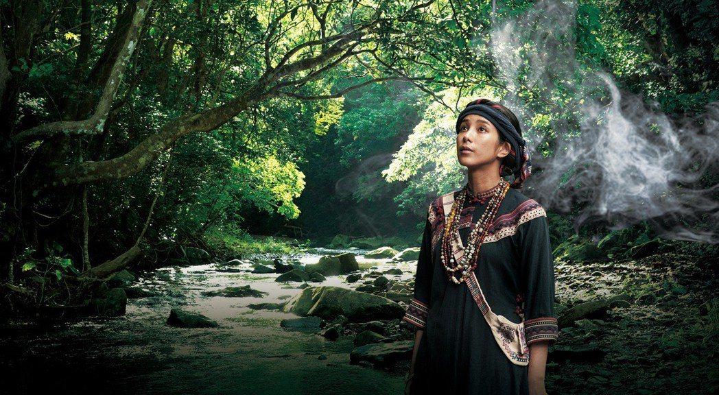 温貞菱在「傀儡花」中挑大樑飾演女主角「蝶妹」。圖/公視提供