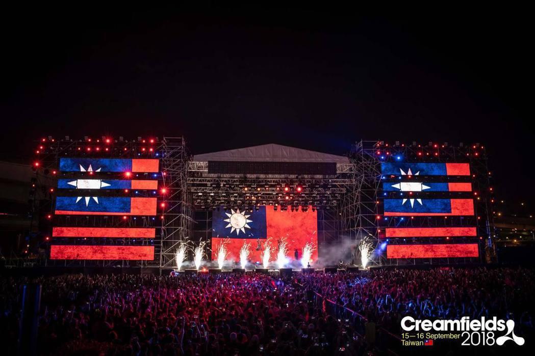 來自英國的電音盛宴「Creamfields 奶油田」台灣站將於 9月7日回歸。圖