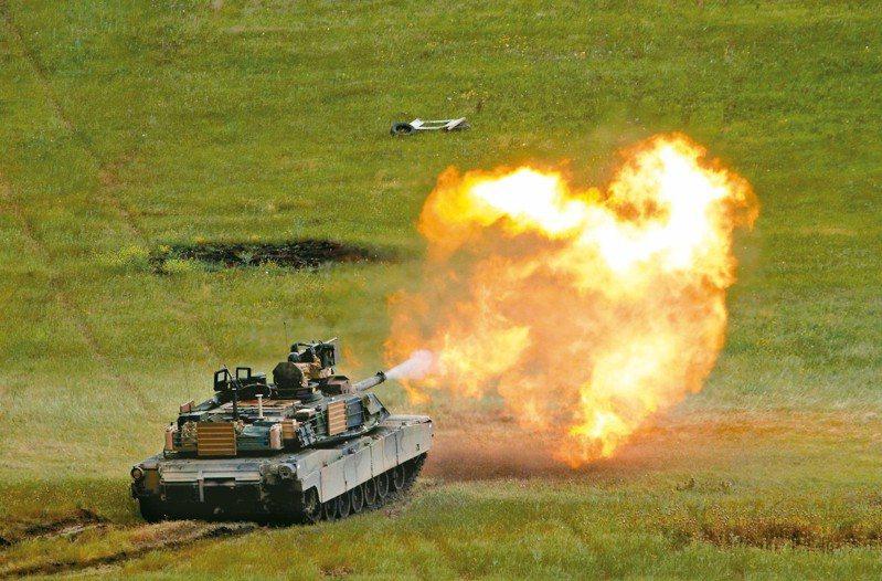 坦克車是戰爭時的重要工具之一。(路透資料照片)