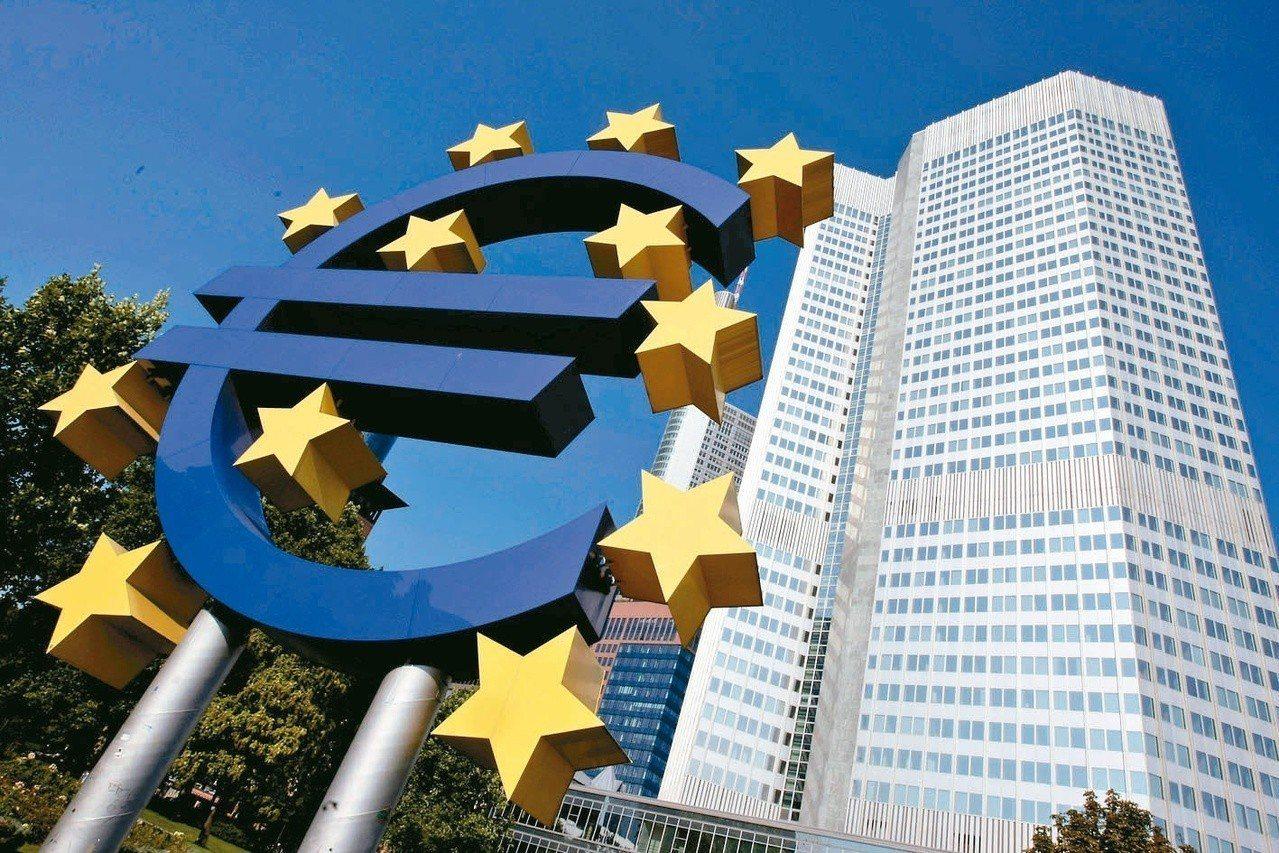 歐洲央行宣布,將銀行業超額準備金存款利率從負0.4%進一步降到負0.5%。 (路...