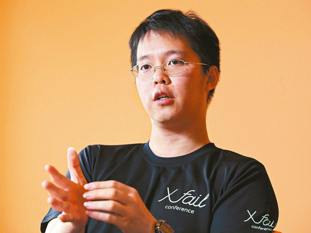 洽吧智能公司創辦人趙式隆表示,樂觀是創業者必要的特質。 (本報系資料庫)