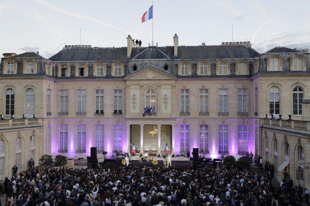 法國艾麗榭宮 (歐新社)