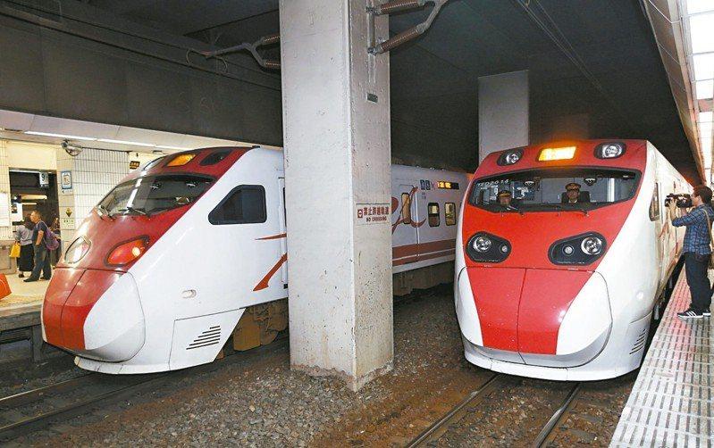 台鐵局原預計8月初取消普悠瑪號、太魯閣號白天雙人乘務制度,交通部長林佳龍急喊卡。 圖/聯合報系資料照片