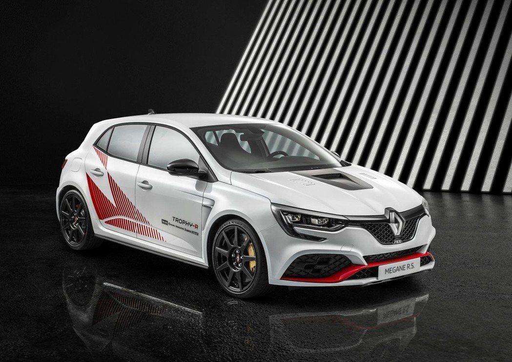 Renault Megane RS Trophy-R。 摘自Renault