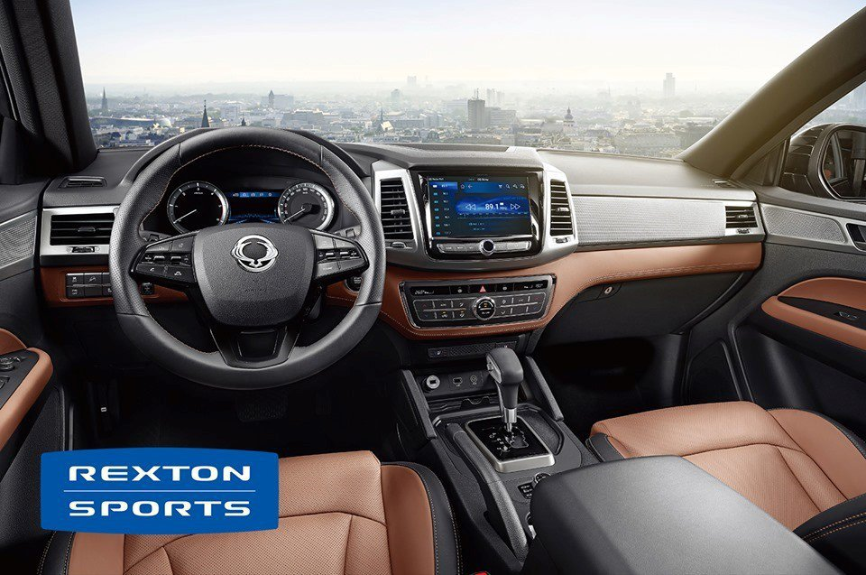 REXTON SPORTS舒適遠勝同級,唯一標配雙前座冷熱通風座椅與電動座椅最高...