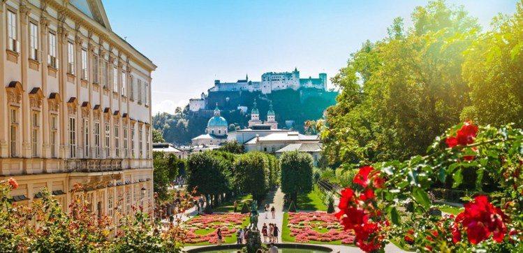 米拉貝爾宮殿花園是來到薩爾茲堡的必去景點。圖/ Trip Expert,女子學提...