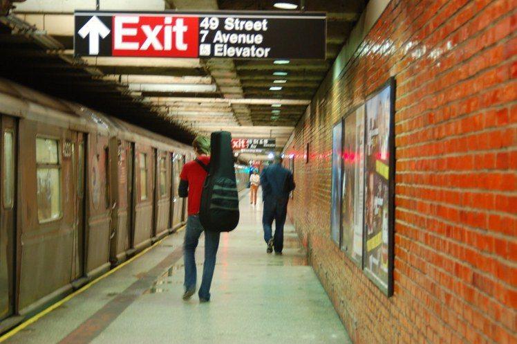 搭著便捷的紐約地鐵,來趟曼哈頓一日遊吧。圖/flickr,女子學提供