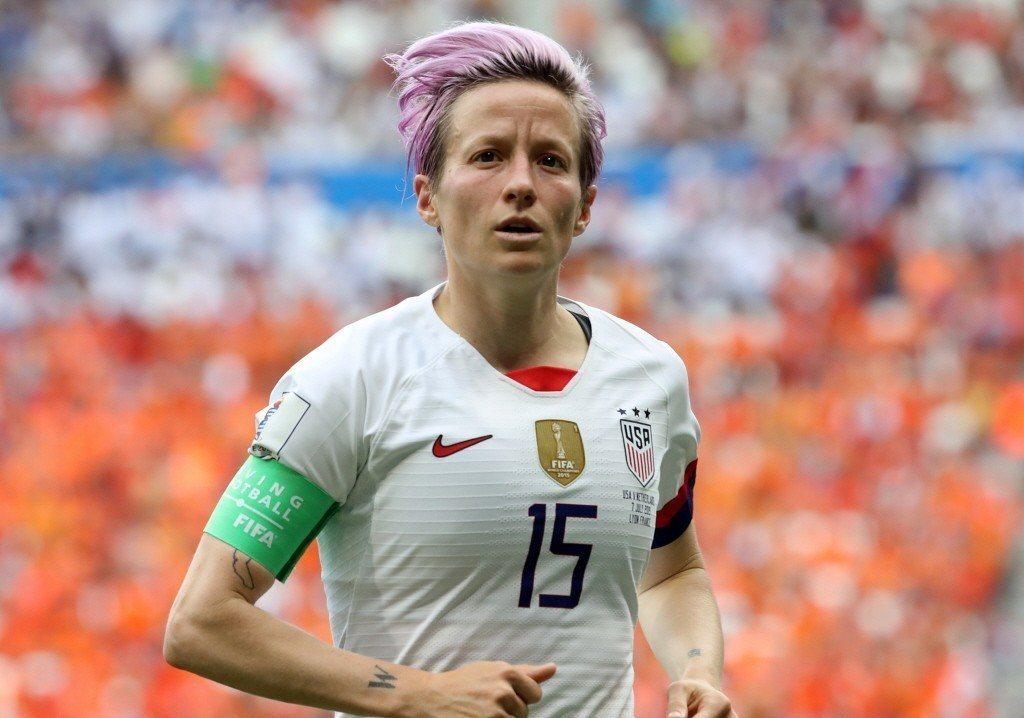 拉皮諾場上精湛球技與場外敢言、勇於承擔,成為新世代性別平等的進步肖像。 圖/路透社