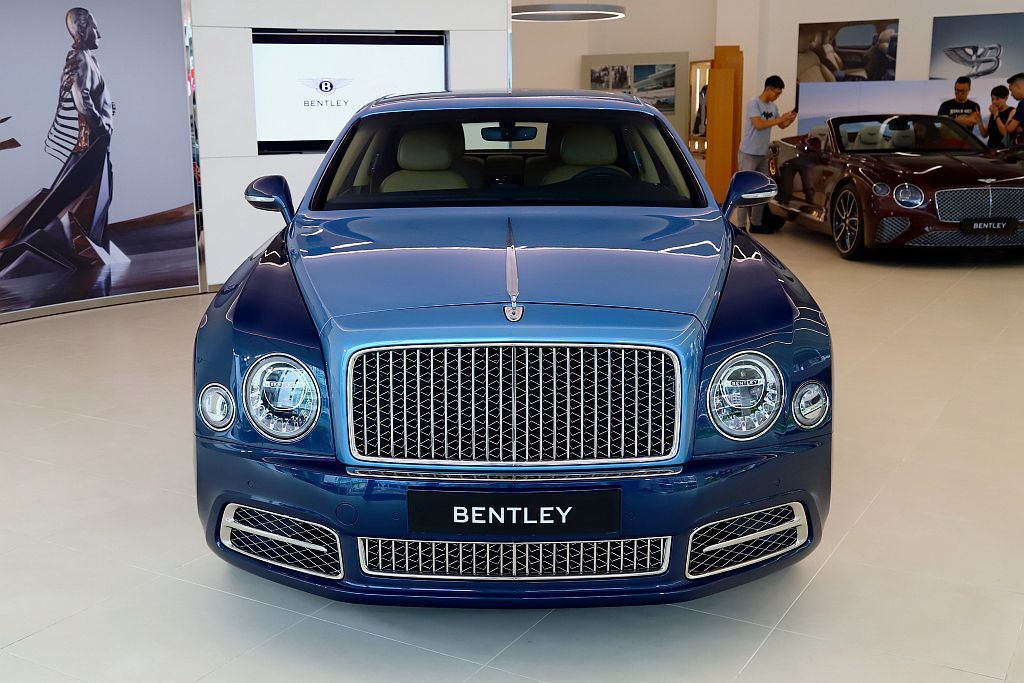 率先抵台Bentley Mulsanne EWB W.O. Edition by...