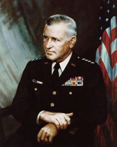 艾布蘭將軍畫像。 圖/美國陸軍檔案照片