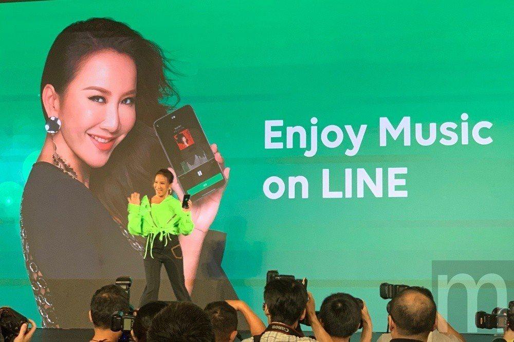 藝人李玟擔任LINE MUSIC台灣地區年度代言人。圖/聯合報系資料庫