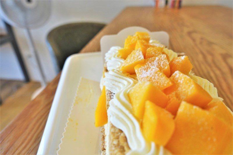 (圖/台灣旅行趣) ▲店家用的芒果是來自屏東的愛文芒果。