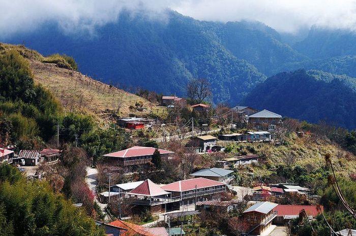 司馬庫斯部落。 圖/Wikimedia
