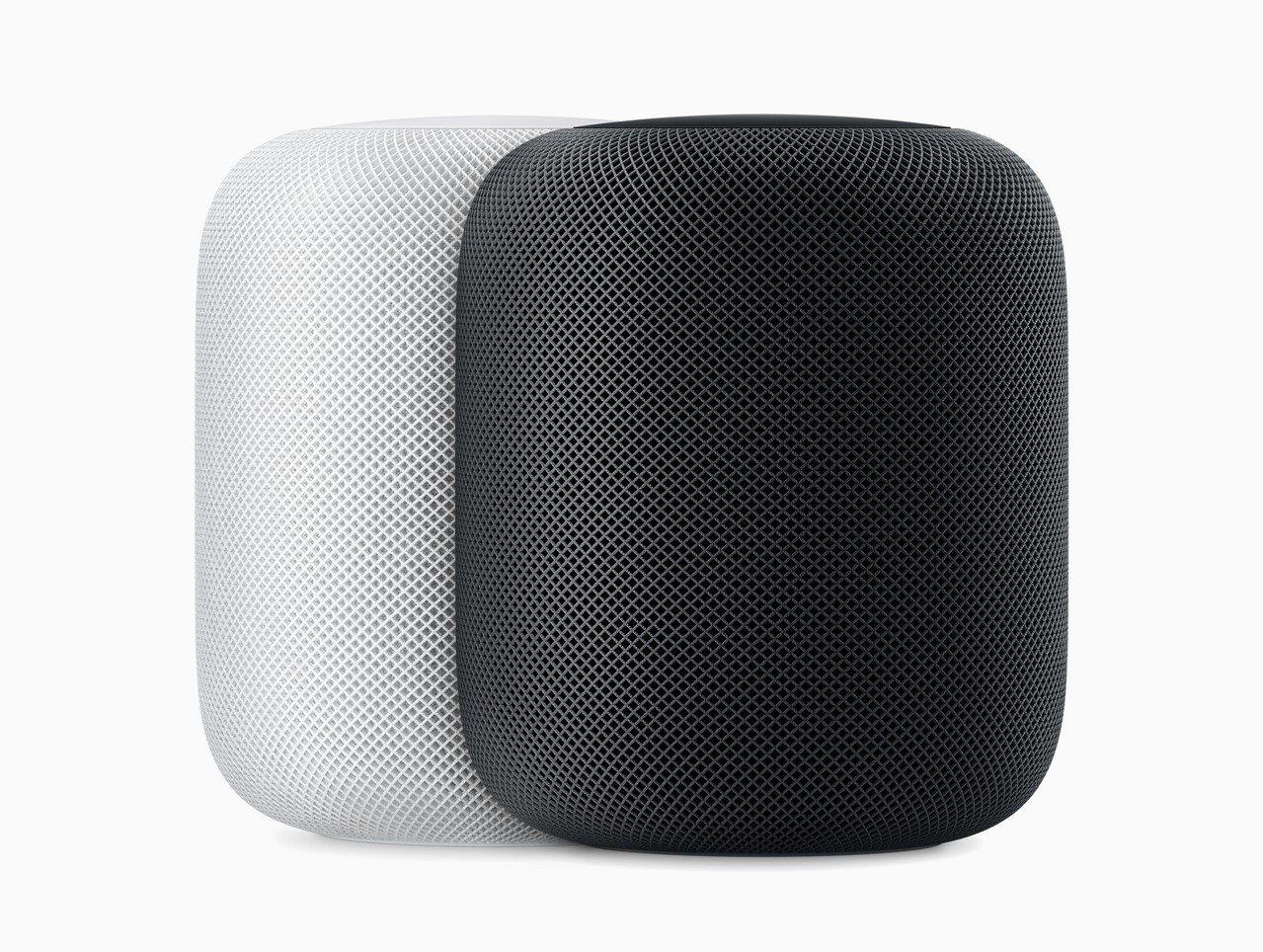 在同一個房間放置2部HomePod,就能輕鬆創造立體聲聆聽體驗。圖/蘋果提供