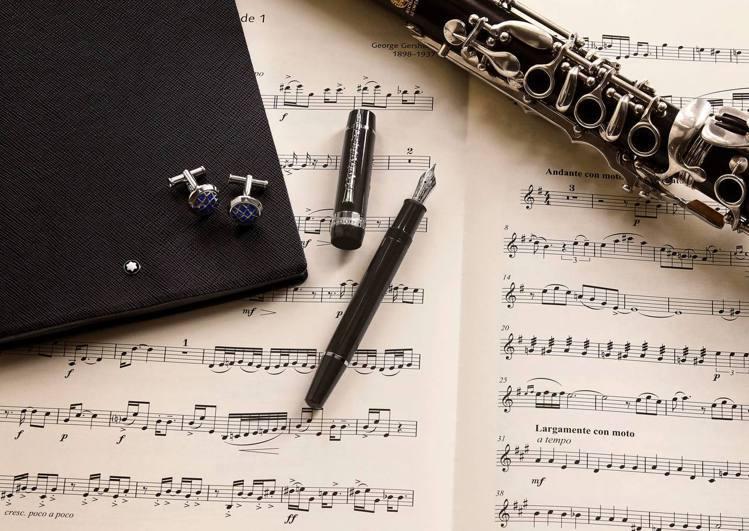 萬寶龍音樂家系列推出向喬治蓋希文致敬系列。圖/萬寶龍提供