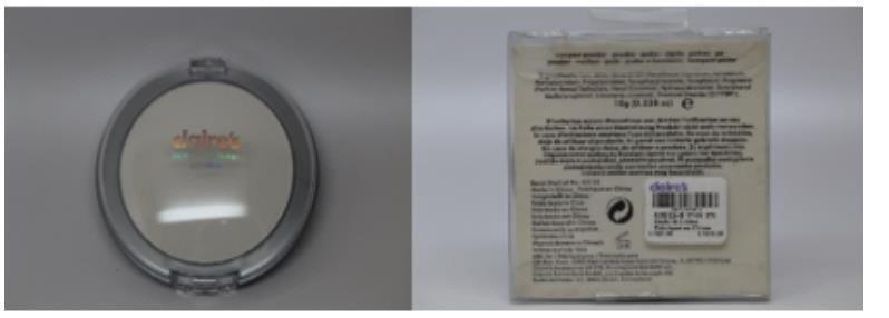 化妝品不得檢出含石綿,用多了恐怕對健康造成危害。 圖/食藥署提供