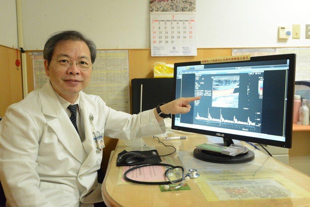台北慈濟醫院神經科醫師林信光提醒,如果民眾已經50歲以上,同時有三高症狀,建議定...