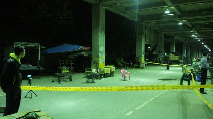 陳宏宗2年多前在雲林西螺果菜市場開槍殺人。報系資料照,記者李京昇/攝影