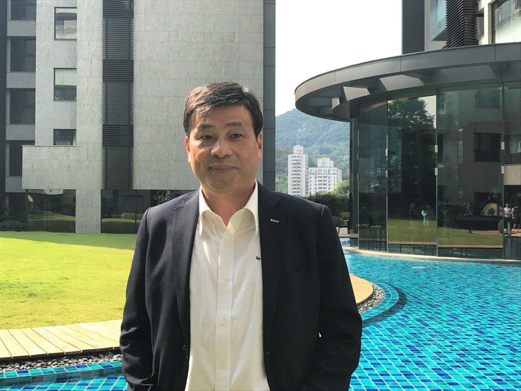 潤泰創新董事長簡滄圳 記者游智文/攝影