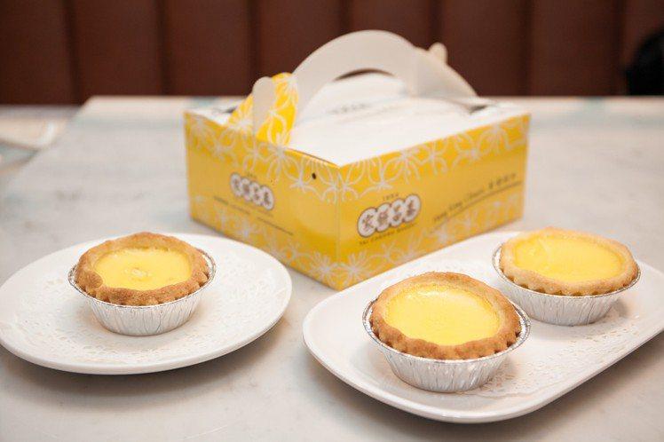 泰昌餅家招牌蛋撻禮盒有3、6、8、12入裝。圖/業者提供