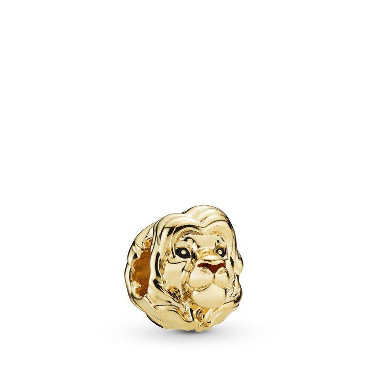 PANDORA Shine辛巴鍍18K金串飾、2,880元。圖/PANDORA提...