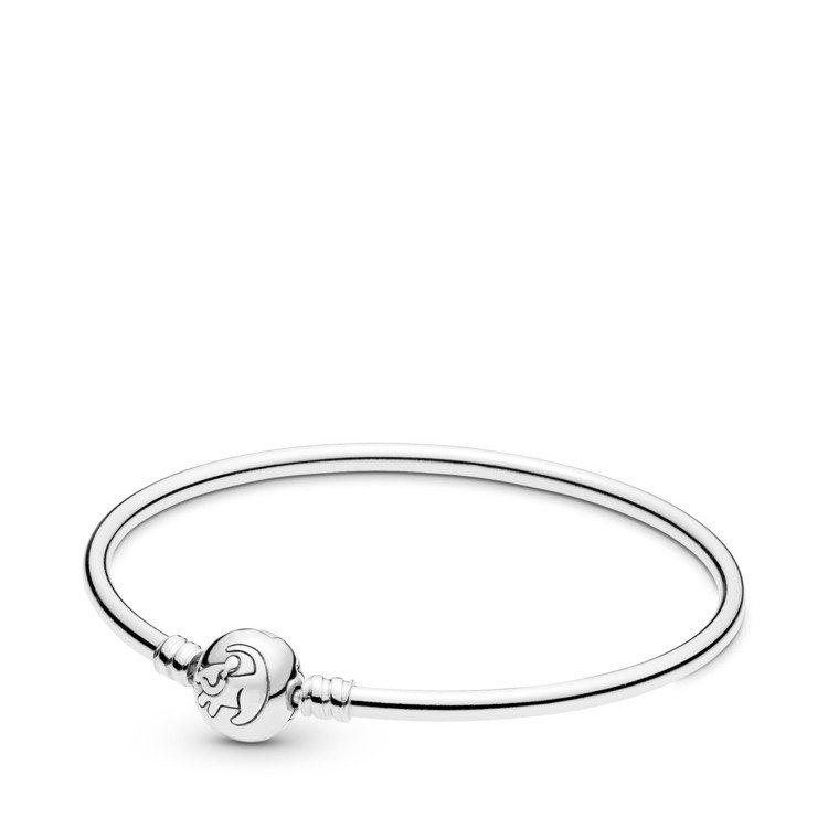 PANDORA小辛巴925銀手環、3,680元。圖/PANDORA提供