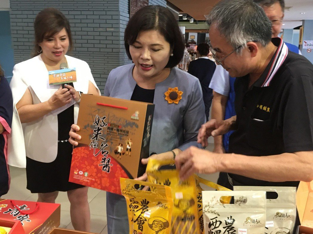 雲林縣多位業者上月參加台北國際食品展,短短4天就拿到7千多萬元的國內外訂單,縣府...