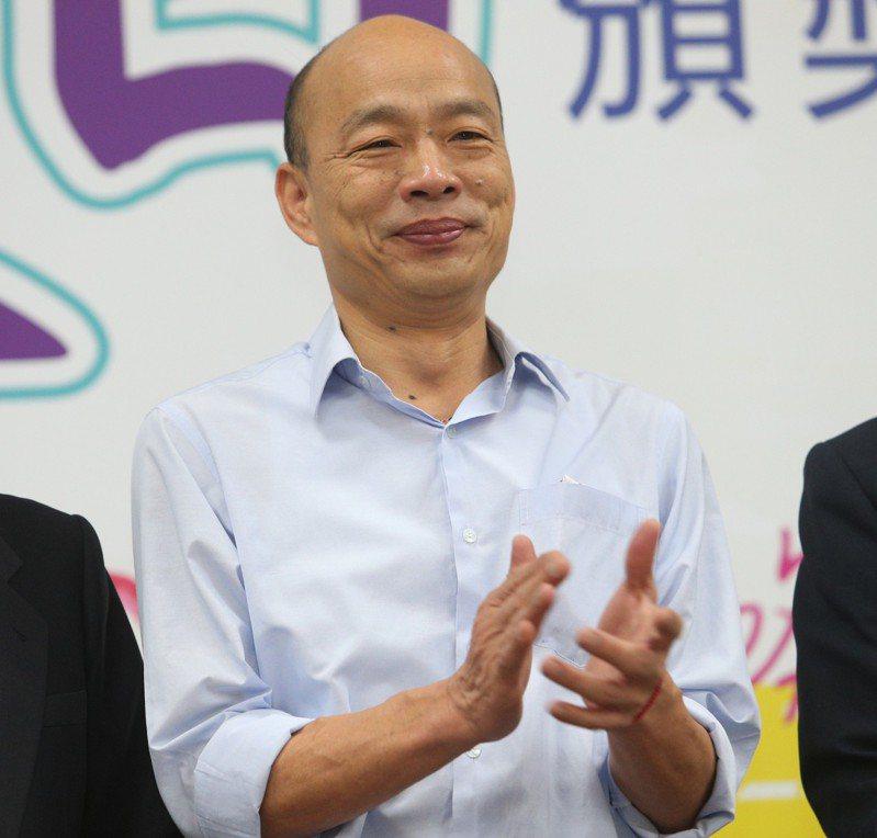 高雄市長韓國瑜今天傍晚接受TVBS電視台「新聞大白話」專訪,談到未來治國的理念,他表示除了要有強大的幕僚幫忙外,最重要的是主政者的判斷力,而重點是要找出台灣當前的困境,找出帶台灣走向安全,人民有錢的可行方法。圖/報系資料照片