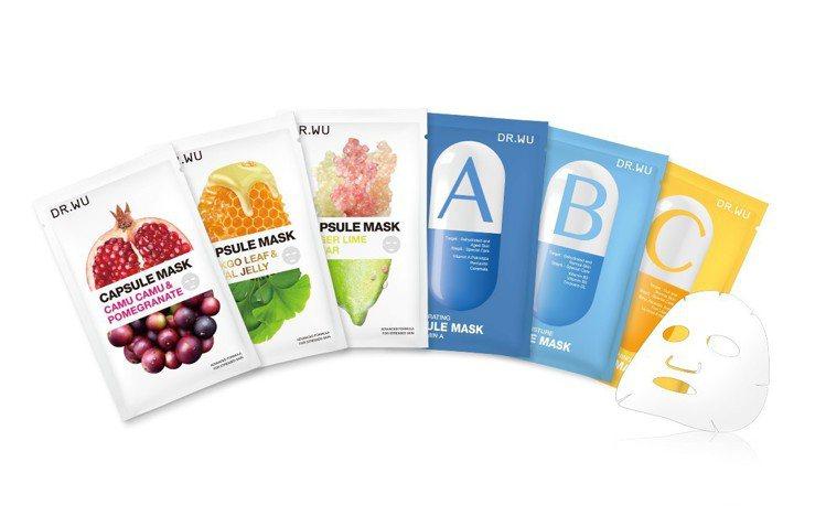 DR.WU首度與康是美攜手舉辦最強品牌月,DR.WU超級食物與維他命膠囊面膜系列...
