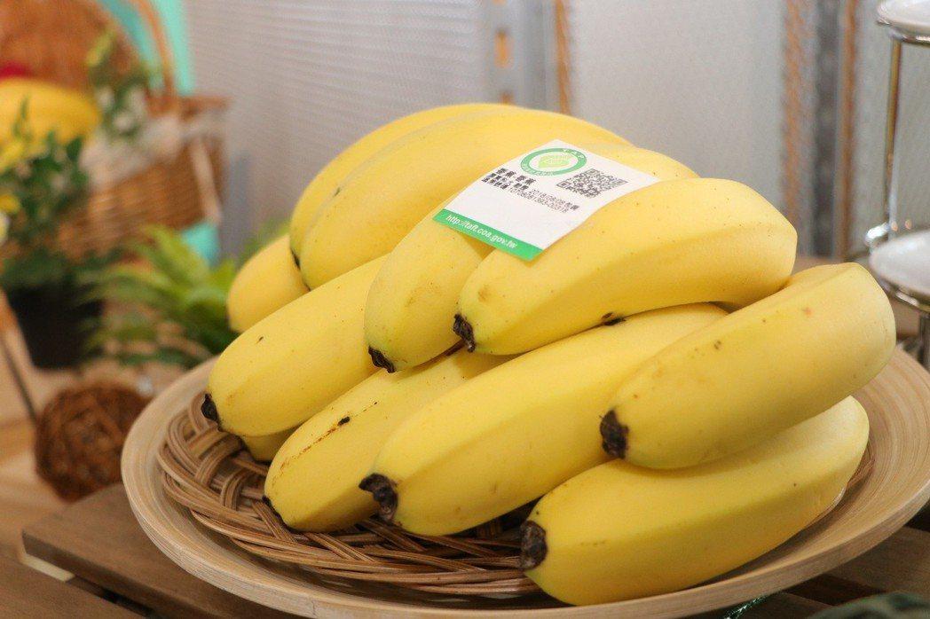 香蕉示意圖。圖/農委會提供