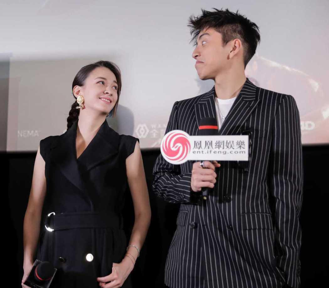 張榕容(左)和王大陸一同主演「素人特工」。圖/澤東提供