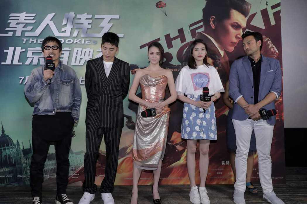 「素人特工」有望今年在台灣上映。圖/澤東提供