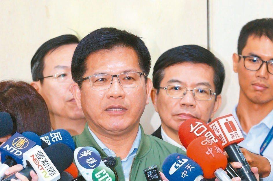 交通部長林佳龍上任後的人事任命,引起藍委批評。圖/聯合報系資料照片