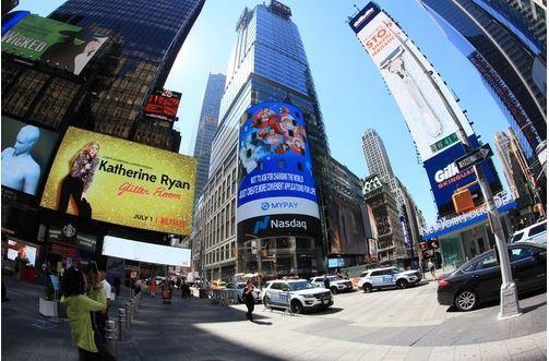 美國紐約時代廣場被譽為