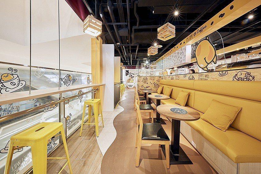 這次更帶來開闊感十足的用餐空間,增設了沙發區,吧檯座位區共40個座位,讓你逛街同...