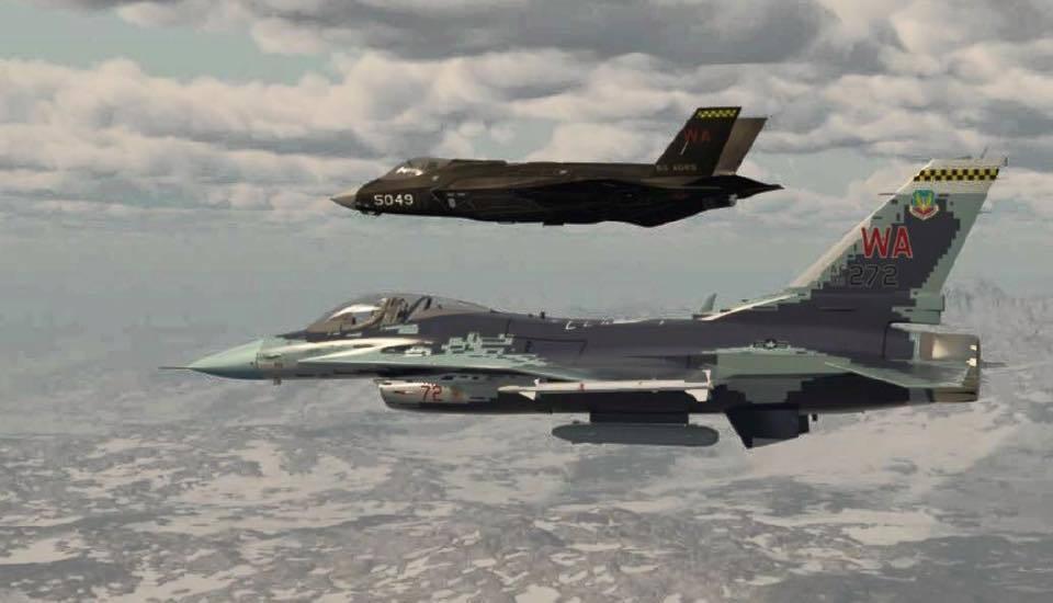 南韓向美採購F-35匿蹤戰機。 取自環球時報
