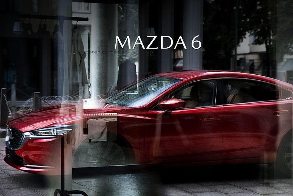 日本市場專屬Mazda Atenza車名不再使用,統一更改為Mazda 6。 圖...