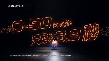emoving電動普重iE125預告影片上線 0-50km/h加速3.9秒
