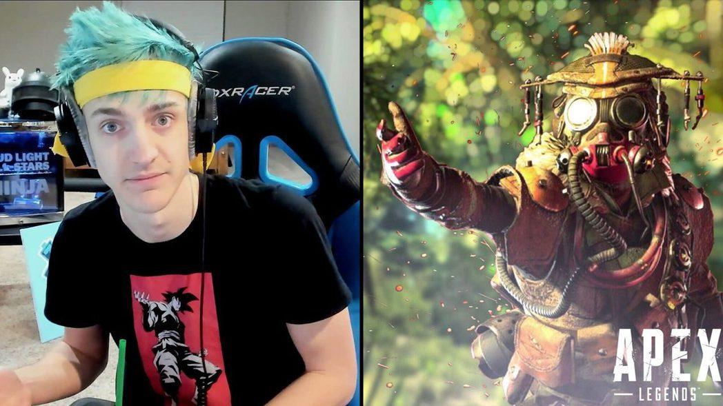 據傳EA砸3000萬台幣請Ninja推廣《Apex英雄》/圖片截自dexerto