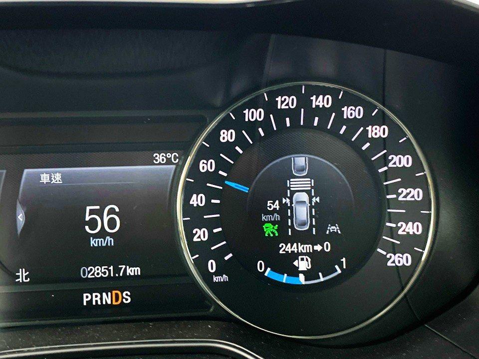 Mondeo Wagon配備ACC主動式定速巡航系統。 記者趙駿宏/攝影