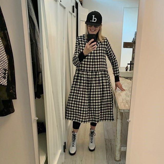 黛安基頓在IG分享每日穿搭。