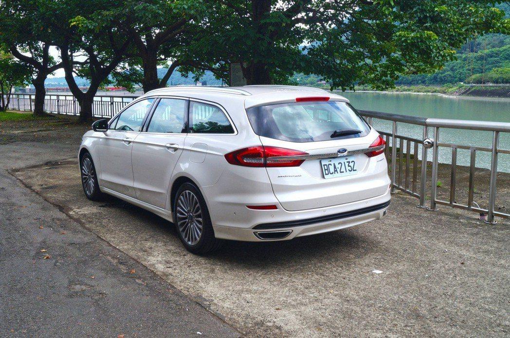 Ford Mondeo Wagon。 記者趙駿宏/攝影
