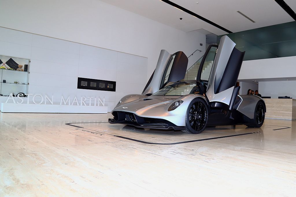 Aston Martin Valhalla全球限量500台,最終價格將會在202...