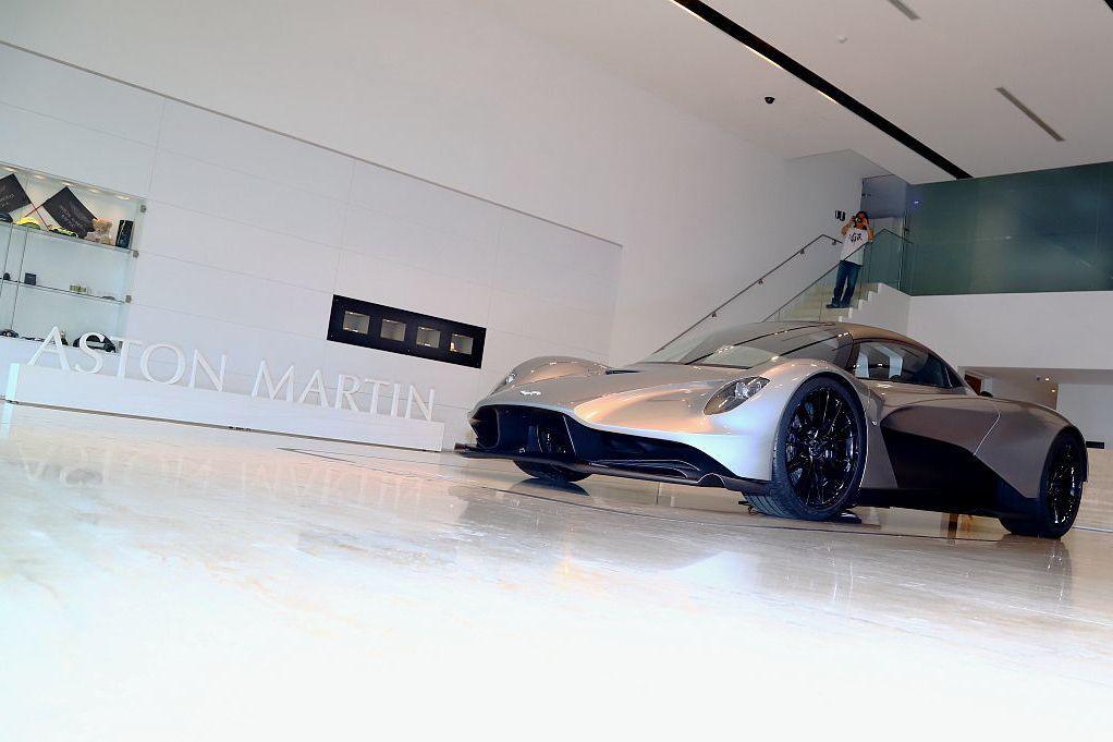 預覽007龐德最新坐駕!Aston Martin Valhalla千匹超跑在台亮相