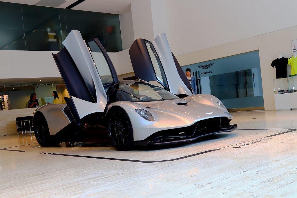 Aston Martin Valhalla也將於下一集007系列電影中,擔綱男主...