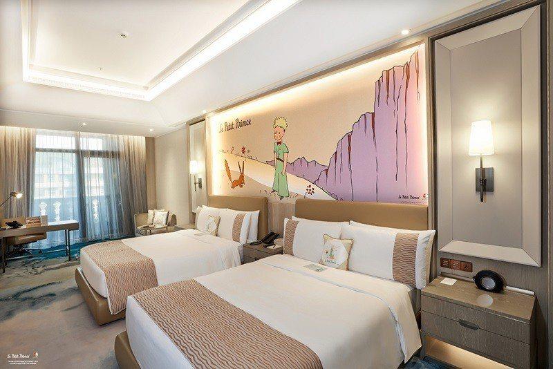 小王子星球之旅菁英客房。 圖片提供/台北美福大飯店