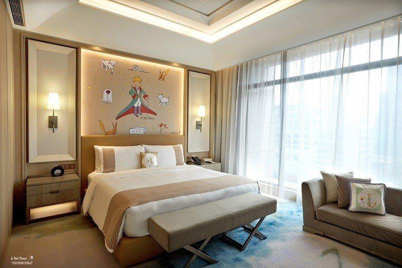 小王子星球之旅行政客房。 圖片提供/台北美福大飯店