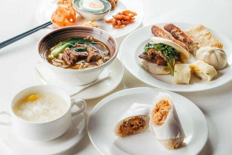 彩匯自助餐廳提供精緻中西式早餐。